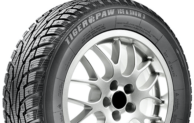 Шина Michelin Uniroyal Tiger Paw Ice & Snow 3