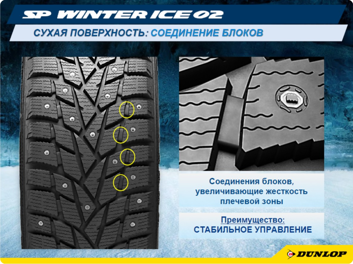 Шины Dunlop SP Winter Ice02